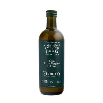 Olio extravergine di oliva Florido lt 1, 100% italiano