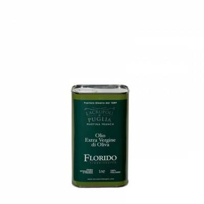 lattina di olio extravergine di oliva florido da 1 litro