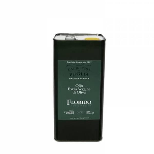 lattina di olio extra vergine di oliva florida da 5 litri