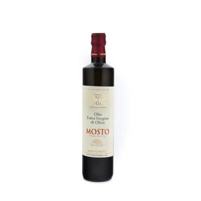 olio extra vergine di oliva mosto da 500 ml