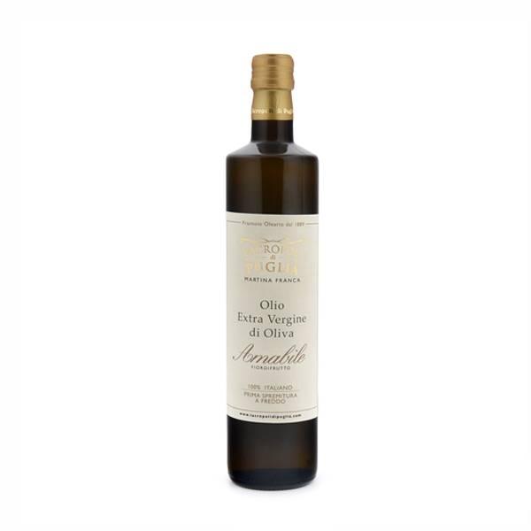 olio extravergine di oliva amabile da 750 ml