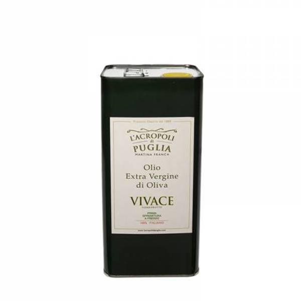 lattina di olio extravergine di oliva vivace da 5 litri