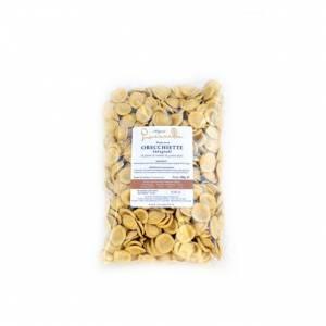 Orecchiette martinesi of wholewheat flour
