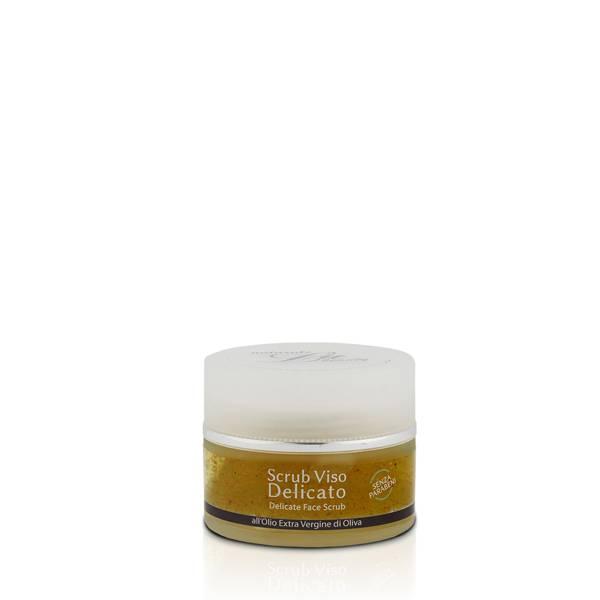 scrub viso all'olio extravergine di oliva