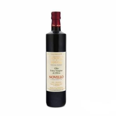 olio novello extravergine di oliva da 0,750 ml