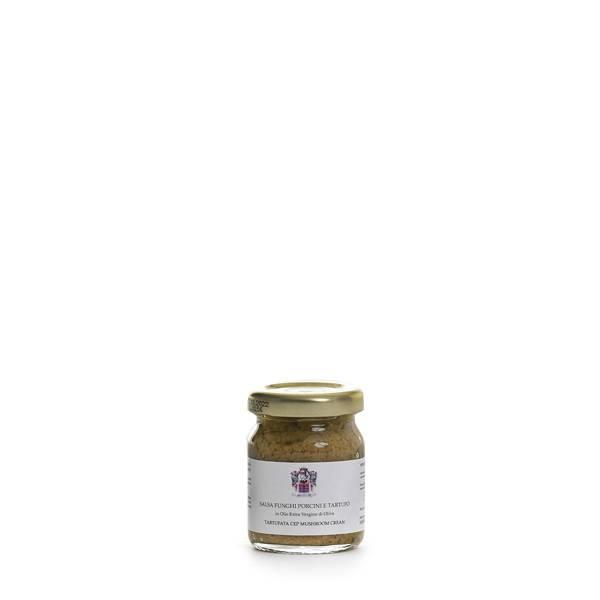 salsa tartufo e porcini all'olio extravergine di oliva