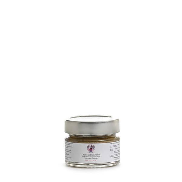 crema di melanzane olio extravergine di oliva