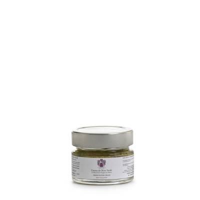 crema di olive verdi all'olio extravergine di oliva