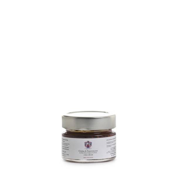 crema di peperoncino olio extravergine di oliva