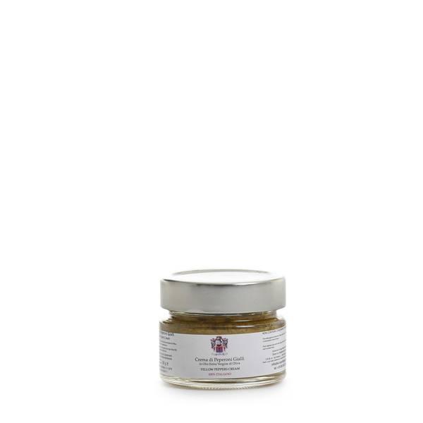 crema di peperoni gialli olio extravergine di oliva