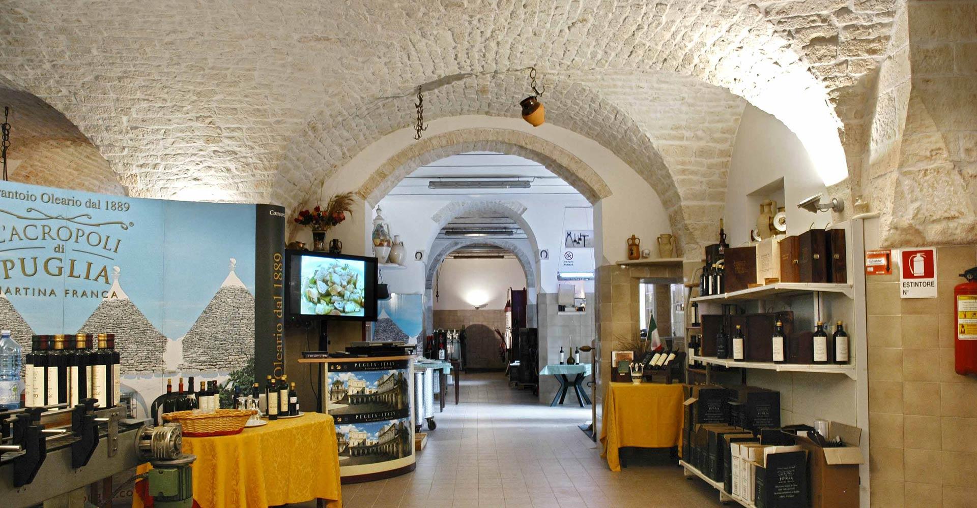 Frantoio oleario l'Acropoli di Puglia a Martina Franca